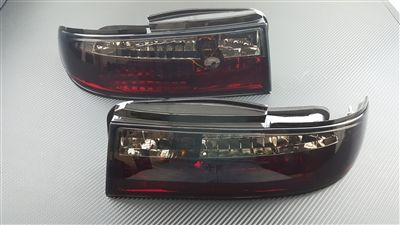 P2M P2-NS14RTL02S-JY Rear Tail Light Set, Smoked LED - Nissan 240SX 95-96' S14 Zenki