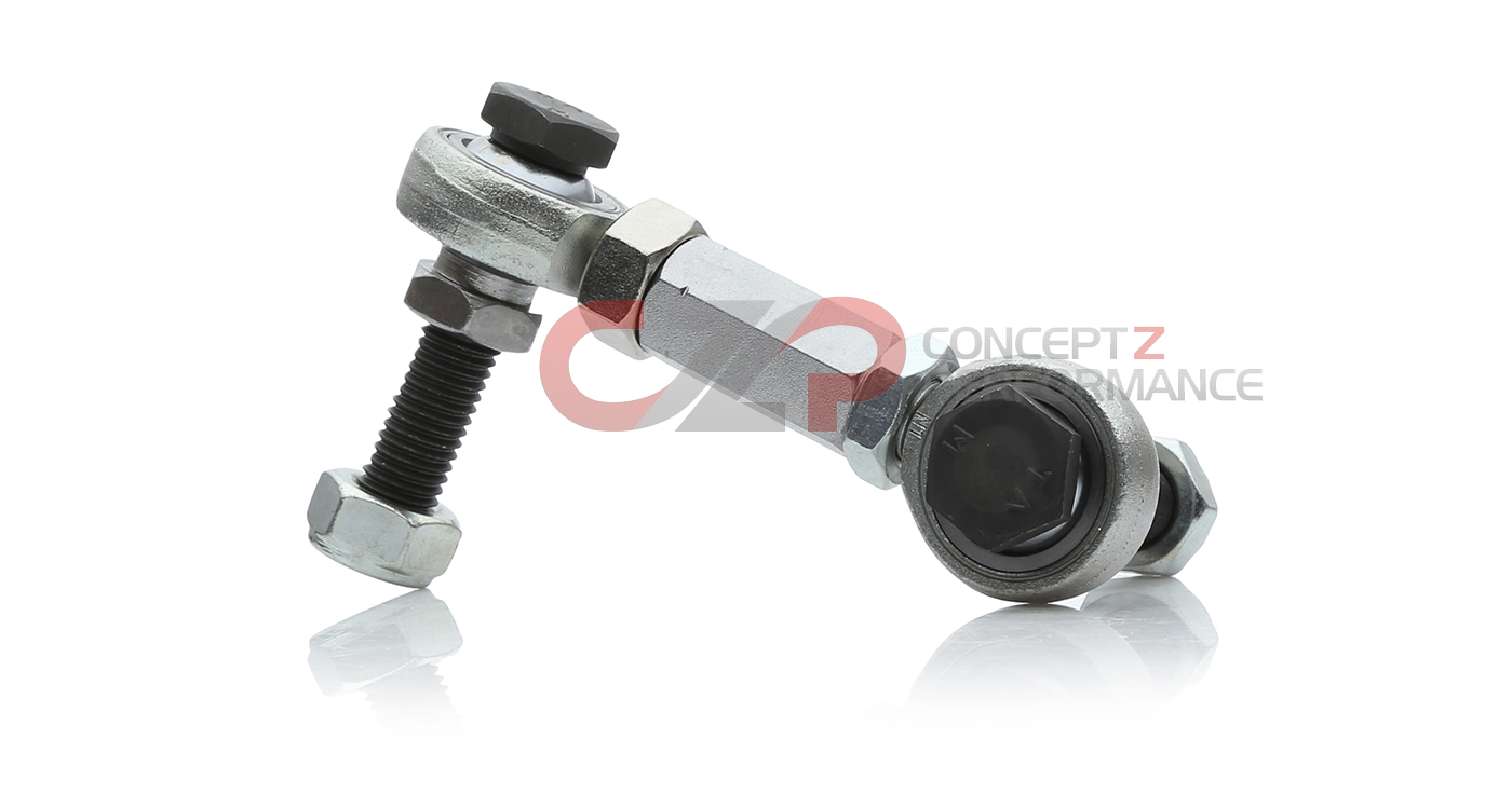 P2M Adjustable REAR Sway Bar Pillow Ball End Links Pair 350Z Z33 G35 V35 New