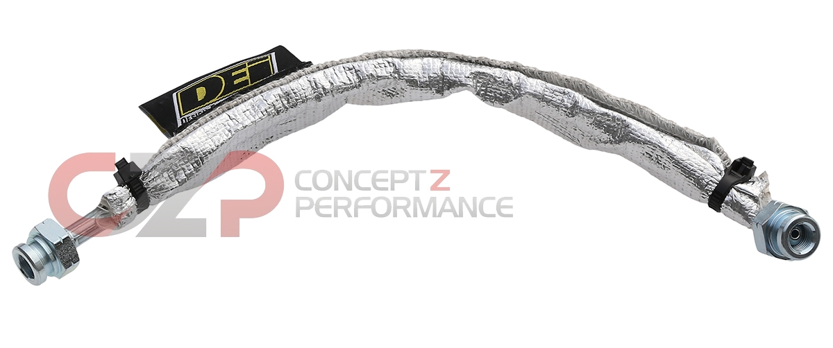 Z Speed Performance Insulated Stainless Steel Clutch Line Hose, VQ35HR VQ37VHR - Nissan 350Z 370Z /  Infiniti G35 G37 Q60