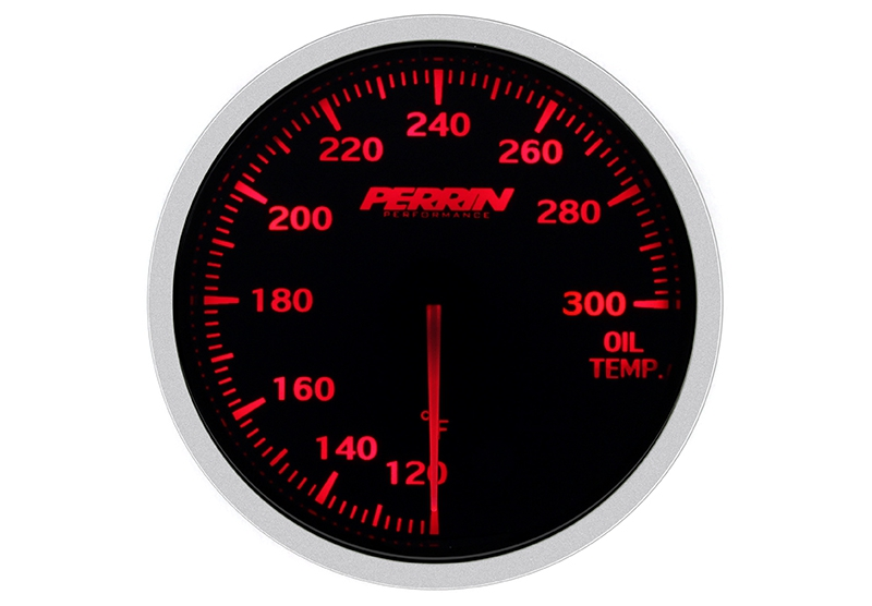 Perrin ASM-GAU-010 Oil Temperature Gauge, 60mm - Universal