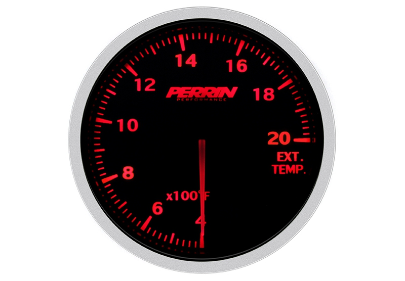 Perrin ASM-GAU-005 Exhaust Temperature Imperial Gauge, 60mm - Universal