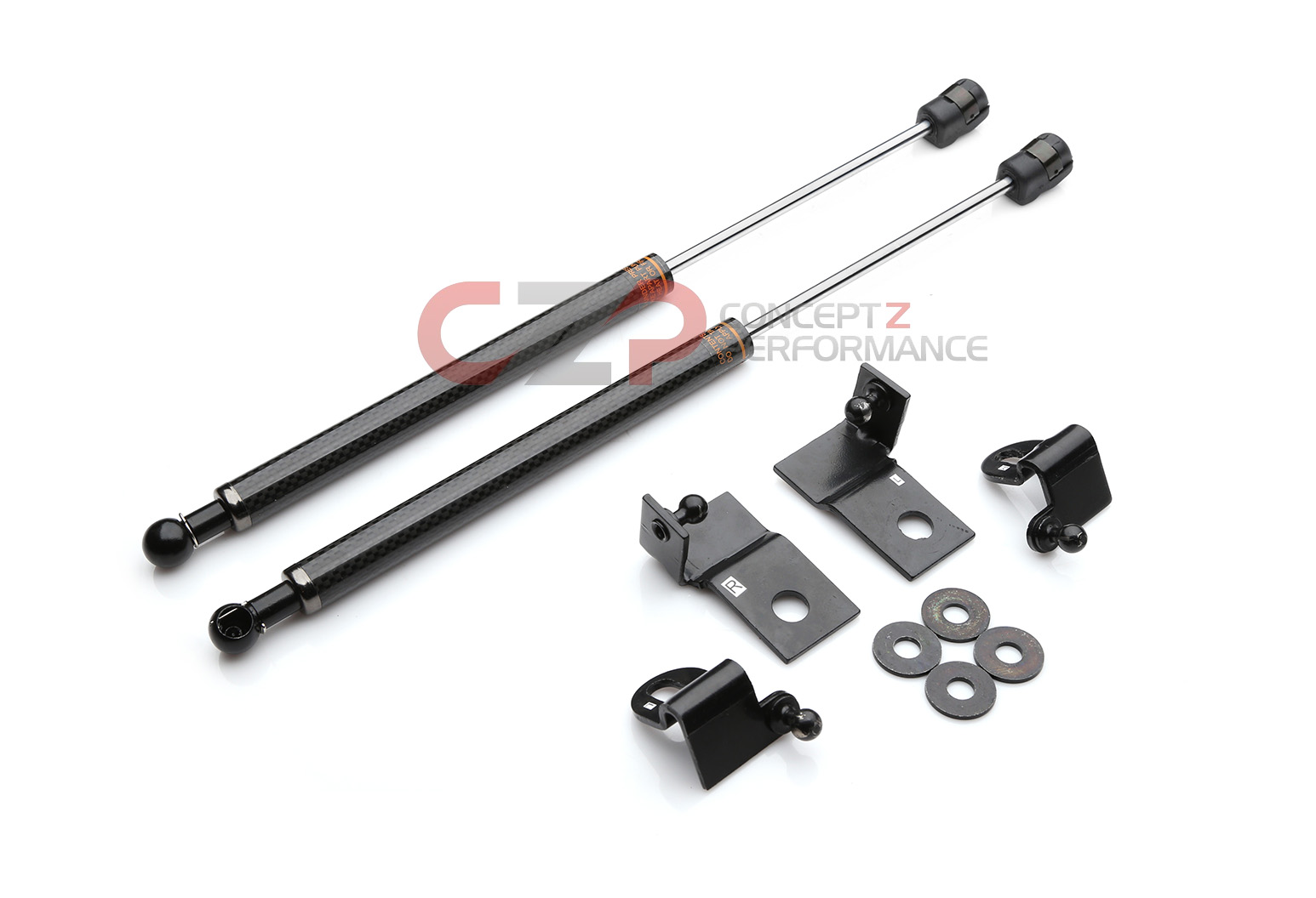 Coupe Circuit Sports Carbon Fiber CF Hood Dampers Kit for Infiniti G35