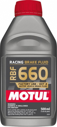 Motul 101667 RBF 660 Racing Brake Fluid, DOT 4