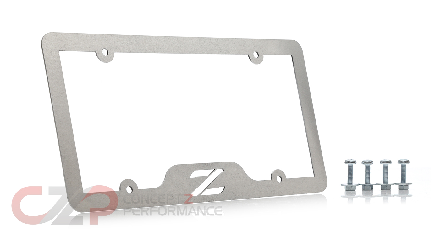 Infamouz Custom Designz License Plate Frame Cover, Z Logo