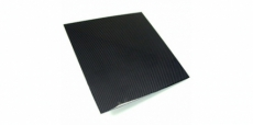 "APR Performance CF-101212 Double Sided Carbon Fiber Plate, 12""x12"" - Universal"