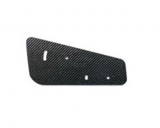 APR Performance AA-100075 GT-250 Single Element Side Plates, Carbon Fiber