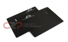 APR Performance AA-100078 Carbon Fiber GT-250 Single Element Side Plates, Swan Neck Only