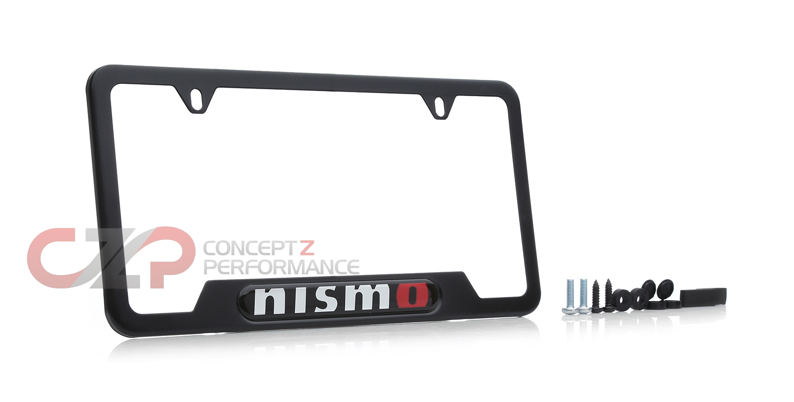 Nismo 999MB-AV000BK License Plate Frame, Black