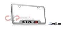 Nismo 999MB-AV000SA License Plate Frame, Brushed