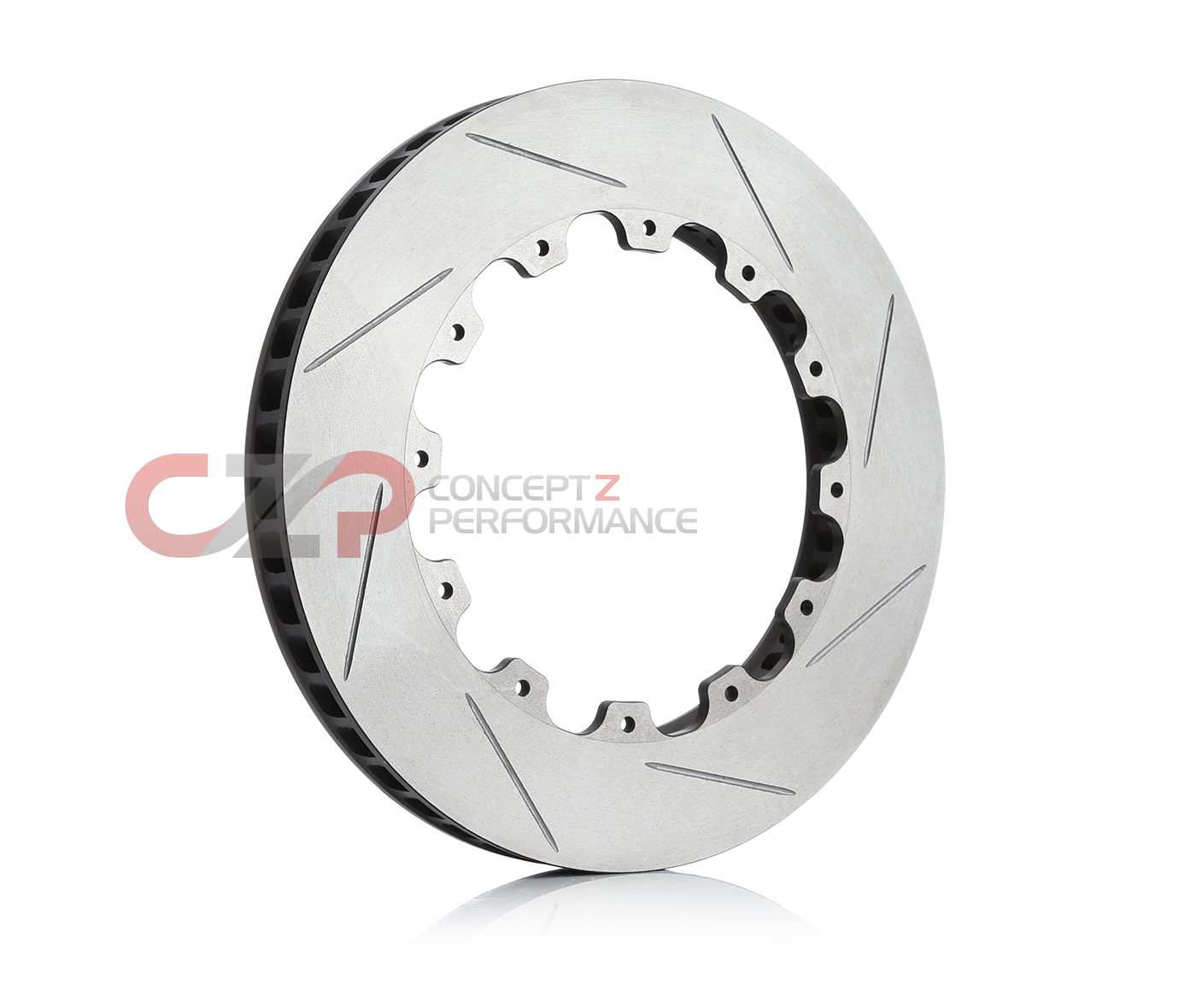 AP Racing AP00052LS Slotted Rotor, LH Driver Side - 13.5""