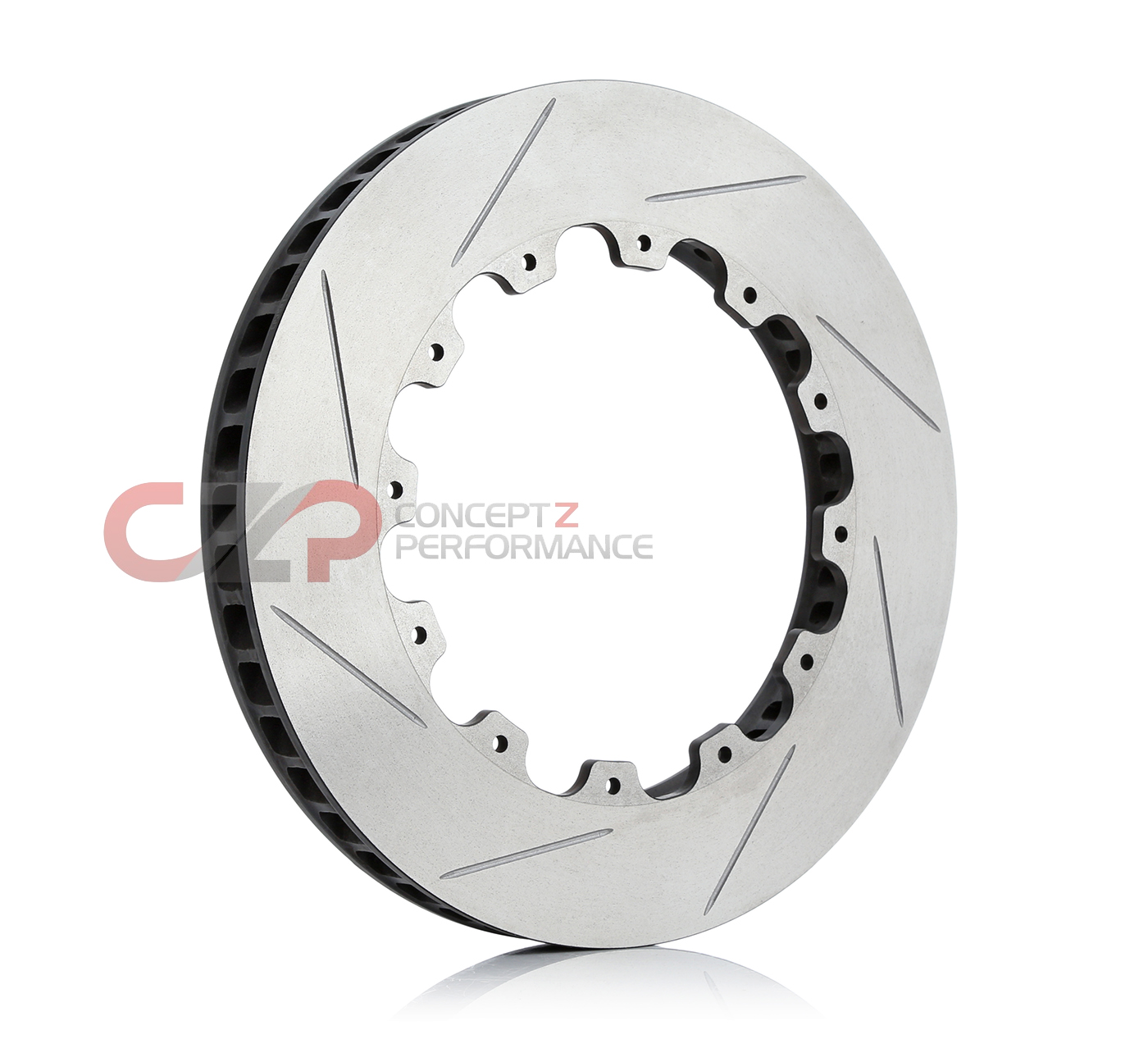 AP Racing AP00052LS Slotted Rotor, RH Passenger Side - 13.5""