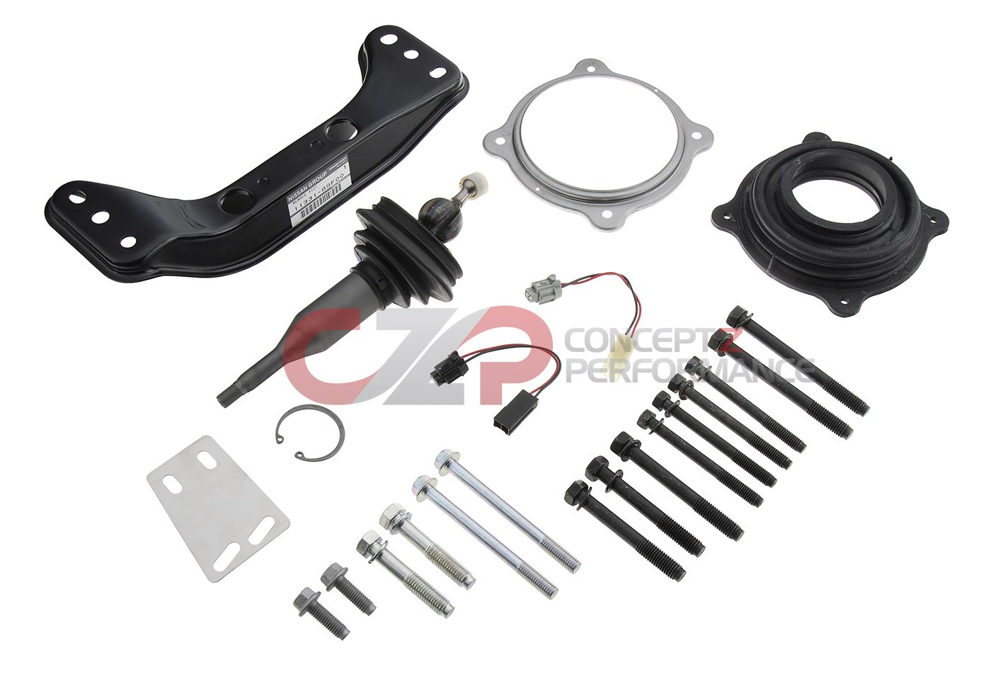 Nismo Reinforced Cross 6-Speed Transmission Mounting Kit - Nissan 240SX / 180SX S13(w/o ABS) / S14 / S15 SR20DE / SR20DET