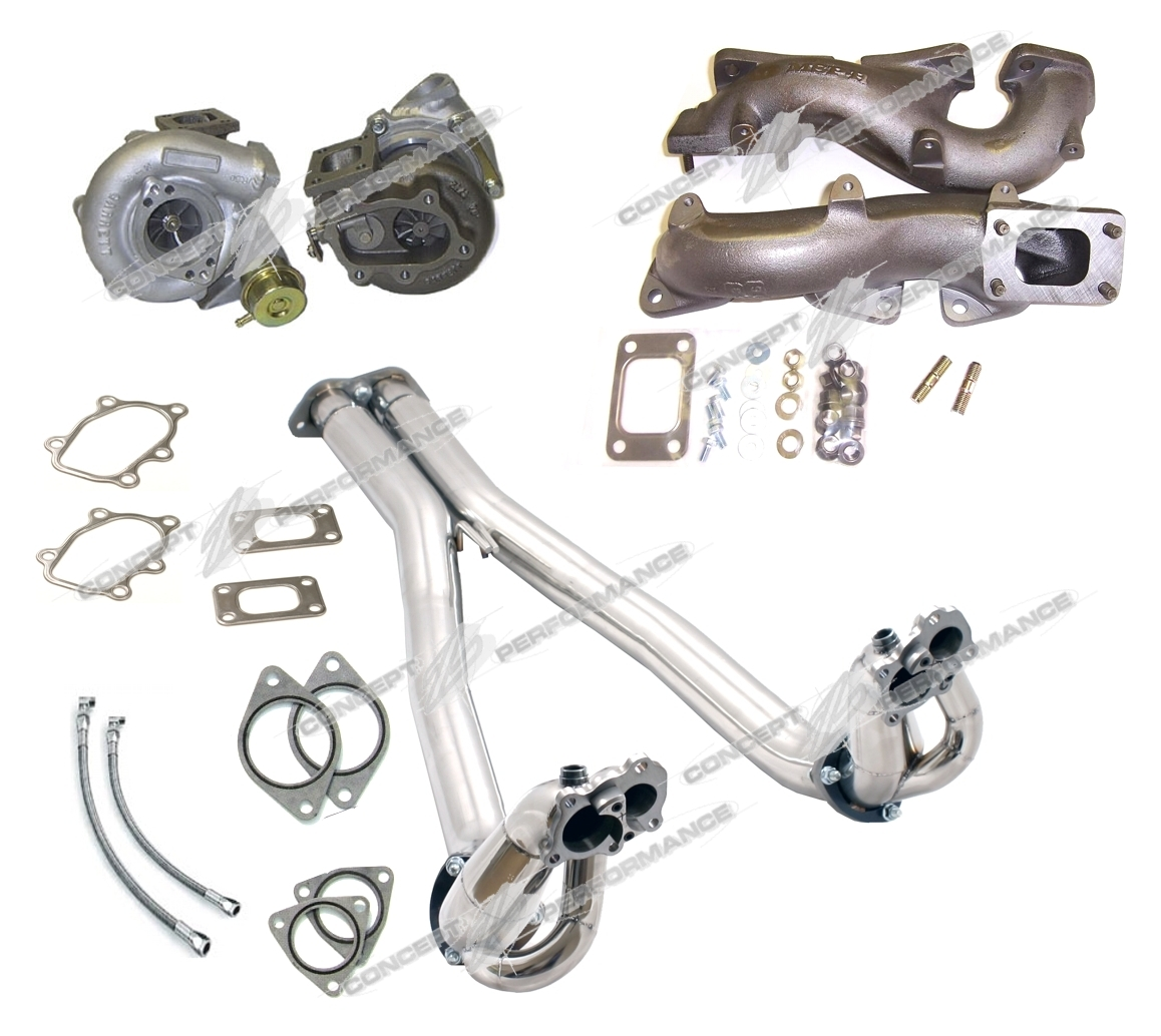 CZP 300ZX Ultimate 530HP Street Package, Full Stainless Steel 90-96 Z32