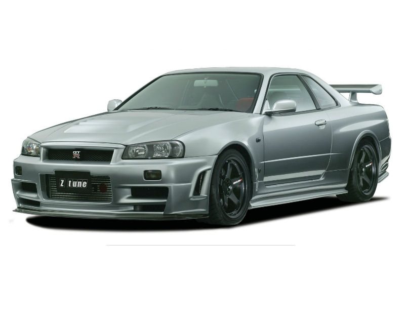 nismo 62020 rsr46 z tune type front bumper cover fascia. Black Bedroom Furniture Sets. Home Design Ideas
