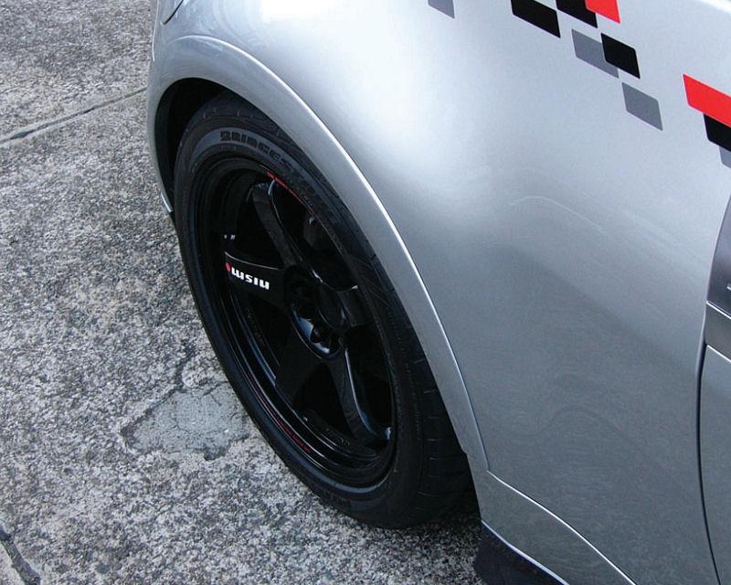 nismo 93820 rnz30 rear fender cover set nissan 350z z33 concept rh conceptzperformance com 350z fender vents 350z fender removal