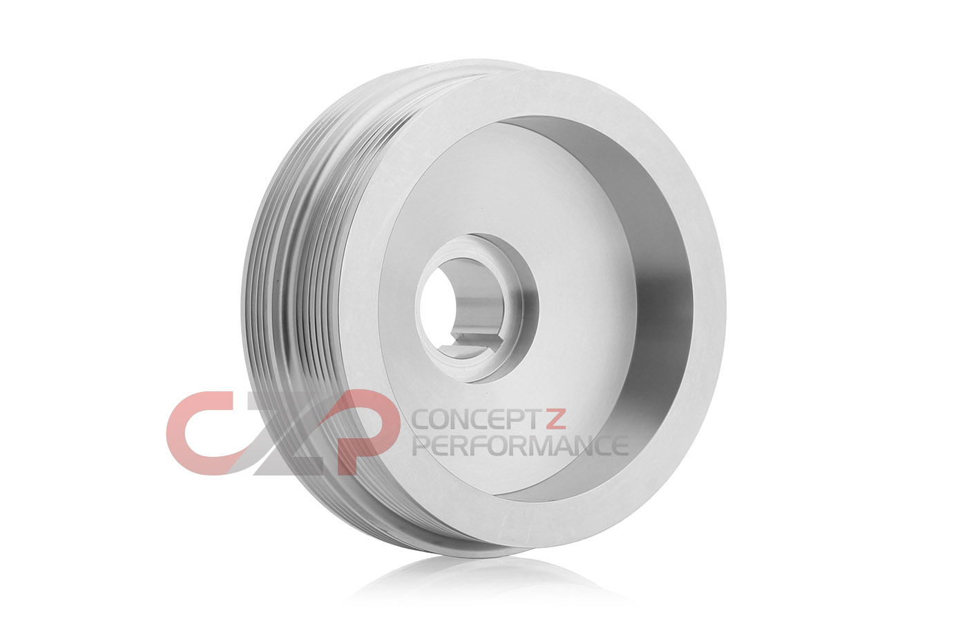 CZP Tuner Edition Crank Pulley by Unorthodox Racing, Stock Sized VQ35DE - Nissan 350Z / Infiniti G35