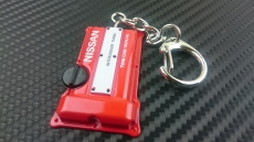 P2M P2-KYCSR20-R Engine Model Keychain, Nissan SR20DET - Red
