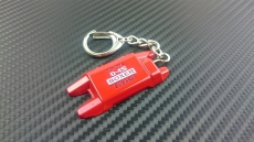 P2M P2-KYCSUBTOY-R Engine Model Keychain, Subaru Boxer - Red