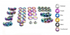 Dress Up Bolts NIS-009-TI Titanium Dress Up Kit, Engine Bay - Nissan 350Z 03-08 VQ35DE Z33