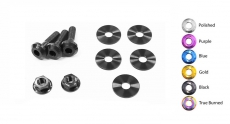 Dress Up Bolts NIS-041-TI Titanium Dress Up Kit, Engine Cover - Nissan 370Z 09-14 VQ37VHR Z34