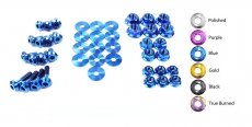 Dress Up Bolts NIS-047-TI Titanium Dress Up Kit, Engine Bay - Nissan Maxima 00-03 A33