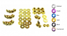 Dress Up Bolts NIS-040-TI Titanium Dress Up Kit, Engine Bay - Nissan Skyline GT-R 86-89 R31