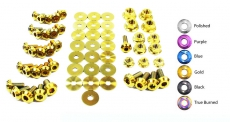 Dress Up Bolts NIS-034-TI Titanium Dress Up Kit, Engine Bay - Nissan Skyline GT-R 98-02 R34