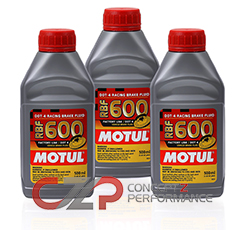 Motul 100949 RBF 600 Racing Brake Fluid DOT 4, 3-Pack