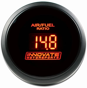 Innovate Motorsports 3794 DB-Series Air / Fuel Gauge, Red
