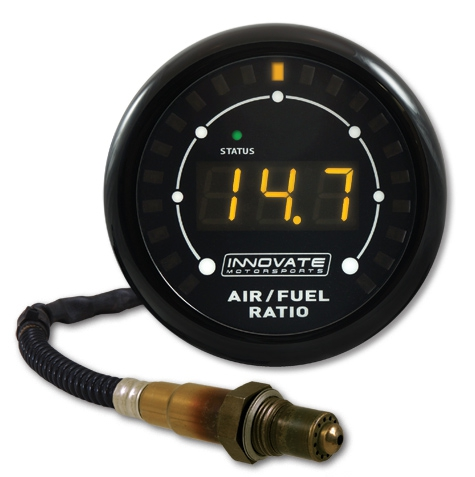 Innovate Motorsports 3845 MTX-L Air / Fuel Ratio Gauge Kit w/O² Sensor, Powersports - 3ft cable