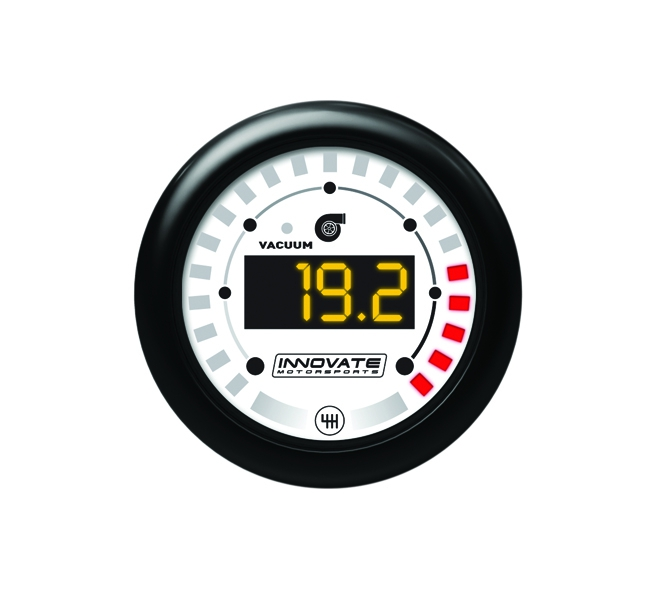 Innovate Motorsports 3851 MTX Digital, Vacuum / Boost & Shift Light Gauge Kit, Dual Function
