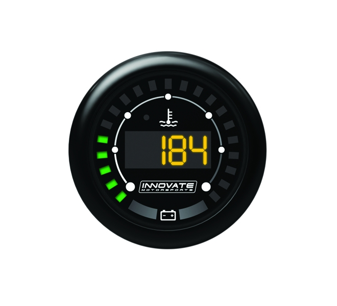 Innovate Motorsports 3853 MTX Digital, Water Temperature & Battery Gauge Kit, Dual Function