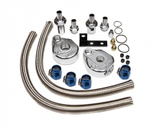 "GReddy Oil Filter Relocation Kit - 3/4"" x 16 UNF Fitting"