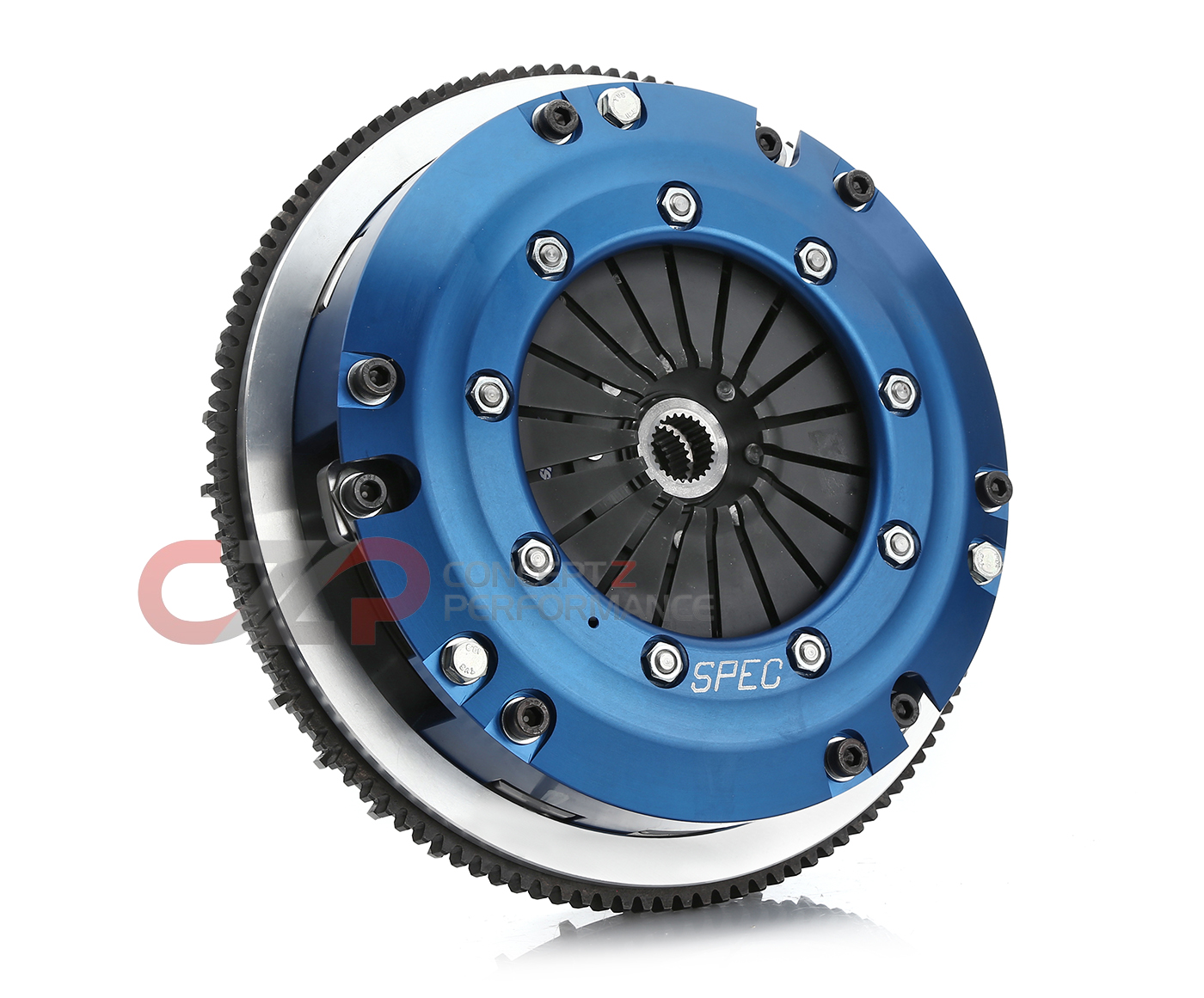 SPEC Spec Super Twin Disc Clutch Kit, ST-Trim 1125 ft/lbs, VQ35HR VQ37VHR -  Nissan 350Z 370Z / Infiniti G35 G37 Q40 Q60 SN35ST-2 - Concept Z