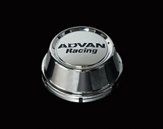 Advan Racing YPADCC73HC High Center Cap, Bright Chrome - 73mm