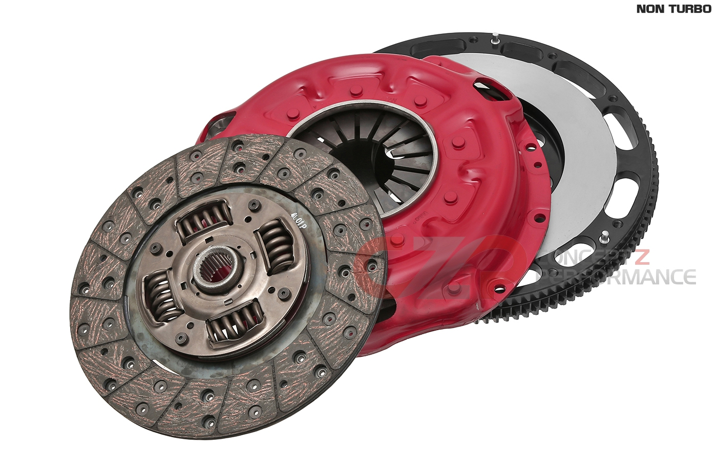 CZP Clutch & Chromoly Flywheel Combo Package, Non-Turbo NA - Nissan 300ZX Z32
