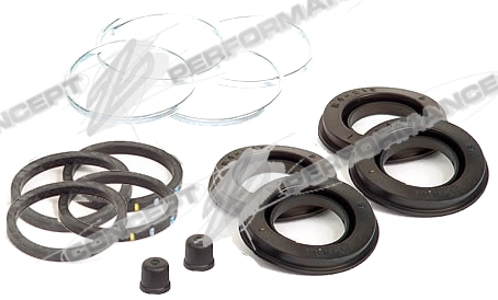 Centric Rear Caliper Seal Rebuild Kit, 2 Calipers - Nissan 300ZX Z32