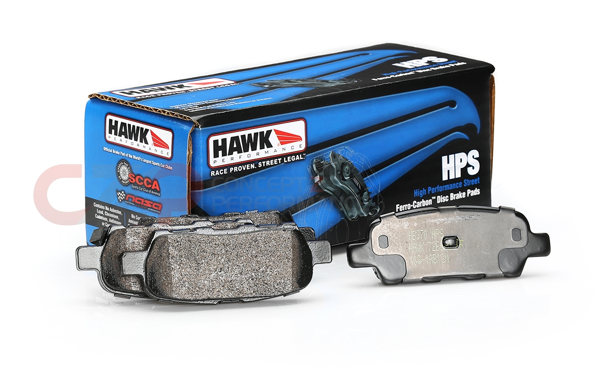 Hawk Brake Pads >> Hawk Performance Hps Brake Pads Rear W Standard Non Sport