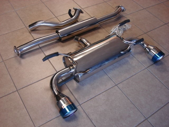 Top Speed Catback Exhaust System with 114mm Tips Scion FR-S / Subaru BRZ