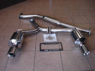 Top Speed Dual Catback Exhaust System Scion FR-S / Subaru BRZ