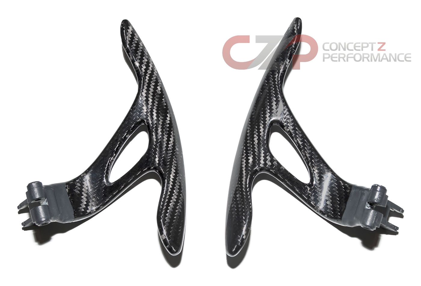 Sixth Element Paddle Shifters, Carbon Fiber - Nissan 370Z 09+ Z34