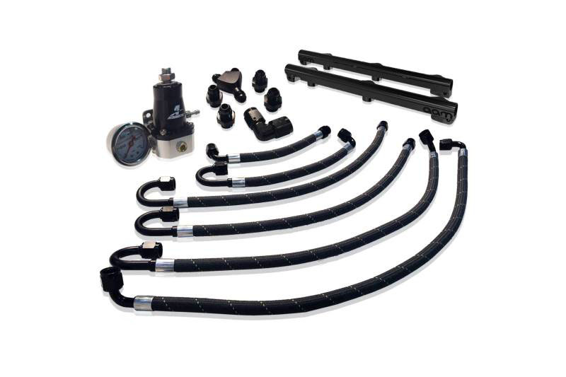 AAM Competition Fuel Rail and Line Kit - Nissan 370Z Z34