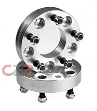 Circuit Sports M12x12.5 Wheel Spacer Pair 5x114.3, 15-30mm