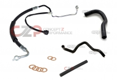 CZP OEM Complete Power Steering System Hose Kit, LHD Models Only - Nissan 300ZX 90-96 Non-Turbo NA / 94-96 Twin Turbo TT Z32