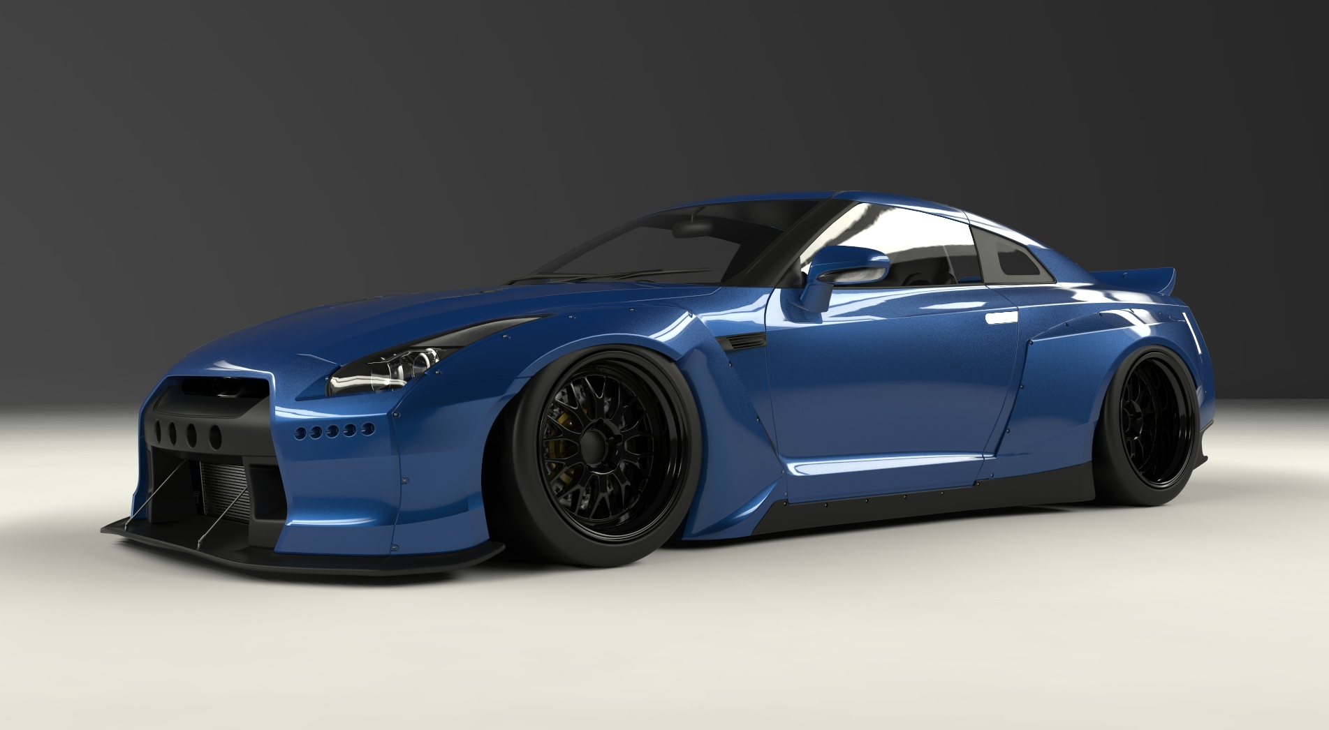 Greddy Pandem By Tra Kyoto Complete Body Kit Nissan Gt R