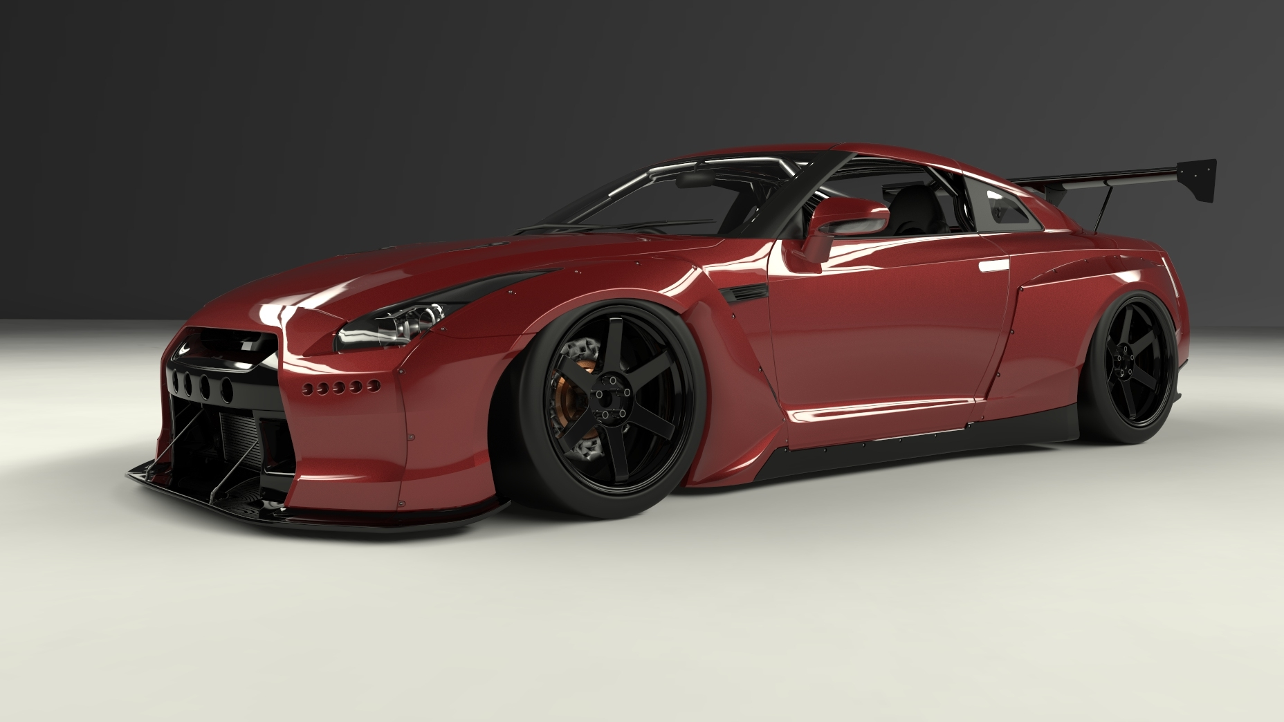 Pandem by TRA Kyoto Complete Body Kit - Nissan GT-R 09+ R35