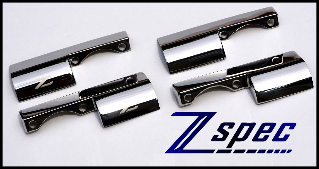 ZSpec Design SS Throttle Linkage Spring Covers, Early Plenums - Nissan 300ZX 90-93 Z32