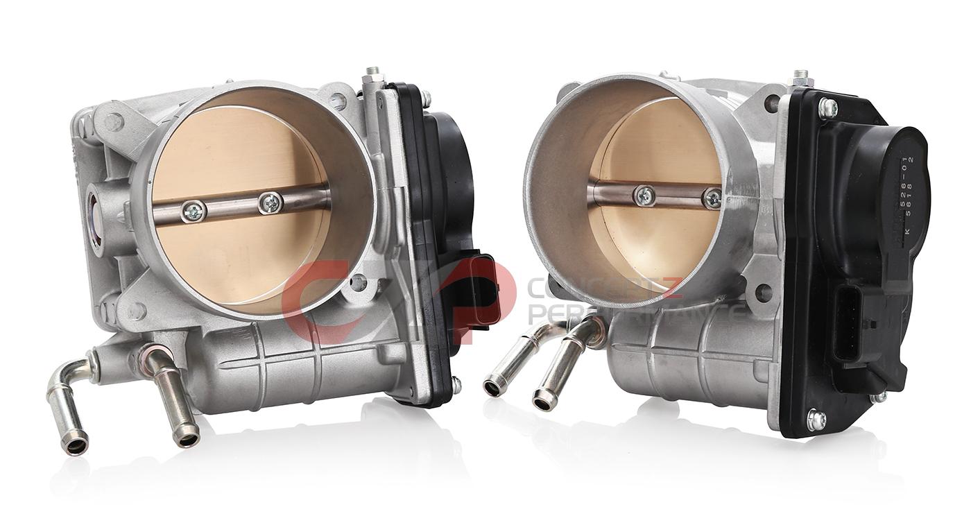 EPS Tuning 70mm Big Bore Throttle Body Kit, VQ35HR VQ37VHR - Nissan 350Z,  370Z / Infiniti G35, G37, Q40, Q60 BB70-KIT EPS Tuning Nissan Infiniti 350