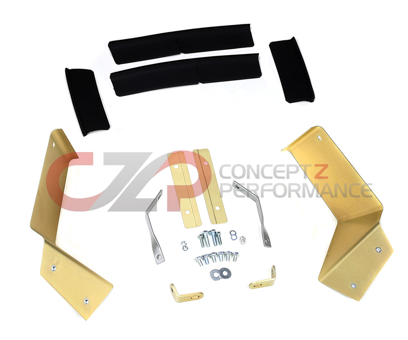 JWT Dual Pop Charger Heat Shield, Seals, and Hardware Kit - Nissan 350Z 07-08 VQ35HR Z33