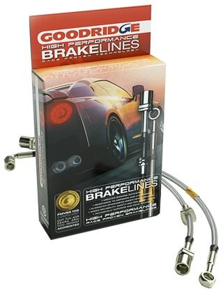 Goodridge G-Stop Stainless Steel Braided Brake Lines Non-Sport Model - Nissan 370Z 09+ Z34